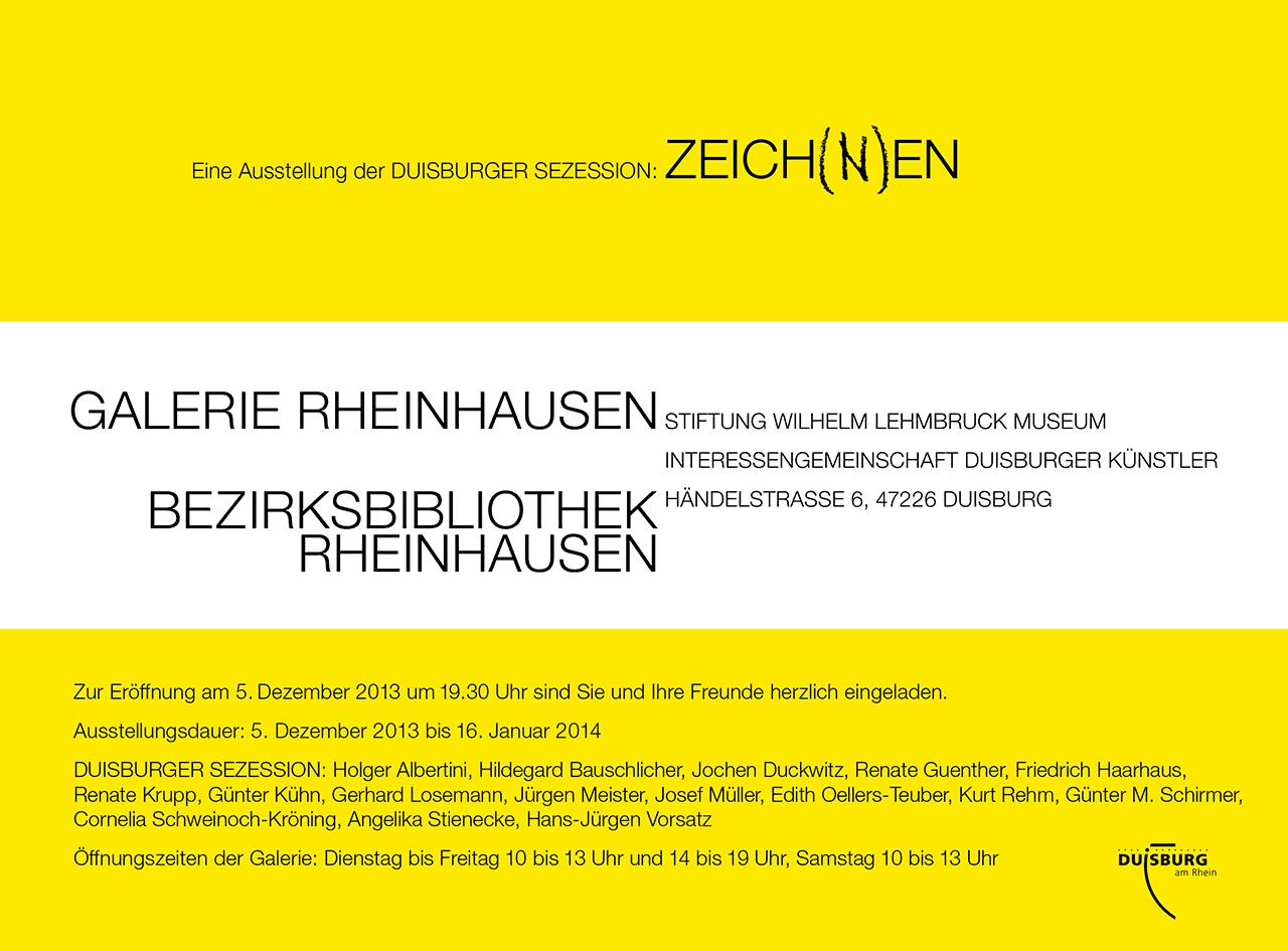 Zeich(n)en