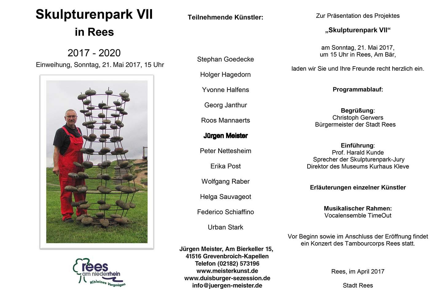 Skulpturenpark VII in Rees